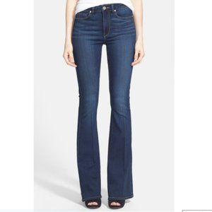 PAIGE High Rise Bell Canyon - Bell Bottom Jeans